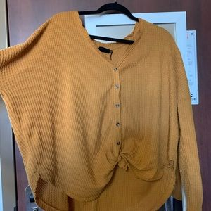 URBAN OUTFITTERS - BURNT ORANGE THERMAL